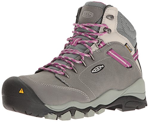 KEEN Utility Women's Canby AT Waterproof Industrial and Construction Shoe, Gargoyle/Vapor, 7.5 M US by KEEN Utility
