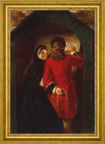 uncle-toby-and-the-widow-wadman-by-william-powell-frith-19-x-28-framed-premium-canvas-print