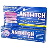 Dr. Sheffields Anti-itch Cream with Histamine Blocker - 1.25 Oz. (Pack of 2)