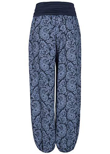 Donna Fashion Blu Navy violet Pantaloni ESdTxOqxw
