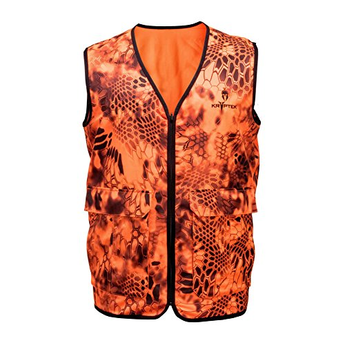 Kryptek Vesuvius Vest Jacket, Color: Inferno, Size: Xl (15vesvf6)