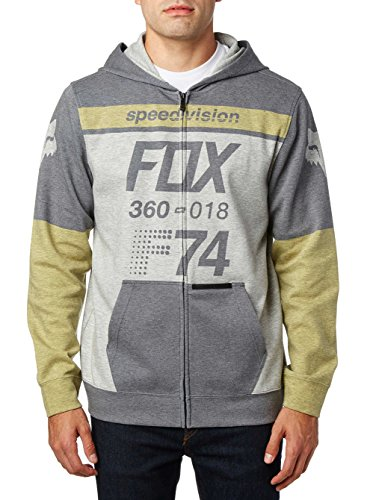 Fox Fleece Zip-Hoody Draftr Blau Gr. L