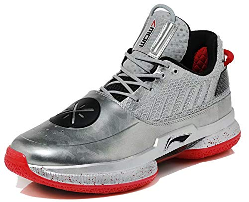 LI-NING Wow 7 'Veteran' Wade Professional Basketball Shoes Typical Cushioning Athletic Sports Sneakers Camouflage ABAN079-3 US 11.5