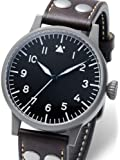 Laco Saarbrücken Type A Dial Swiss Automatic Pilot Watch with Sapphire Crystal 861752