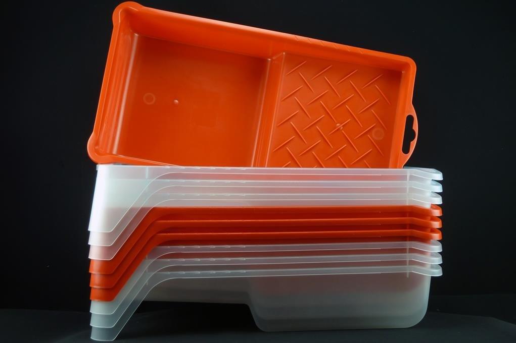 Lackierwannen Lackwanne Kunststoff Farbwanne 15x27x5,5cm Lackierwanne