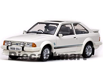 1984 Ford Escort RS Turbo White 1:18 DIECAST Model CAR SUNSTAR SS 4961R New