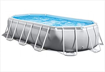 Intex Piscina Desmontable Prism Frame Oval 503x274x122 cm 26796
