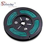 Striveday™ 1007 28AWG Electric wire 28 Gauge / AWG Electronic Stranded Coper Wire Cable DIY Hook Up Wire For DIY 300V Cables 28AWG-Green-30m