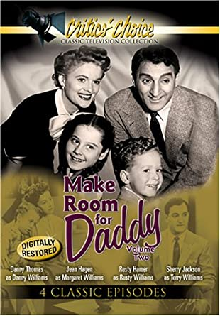 Amazon.com: Make Room for Daddy, Vol. 2: Danny Thomas, Rusty Hamer ...