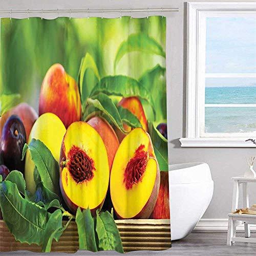 MKOK Shower Waterproof Fabric Shower Curtain 60