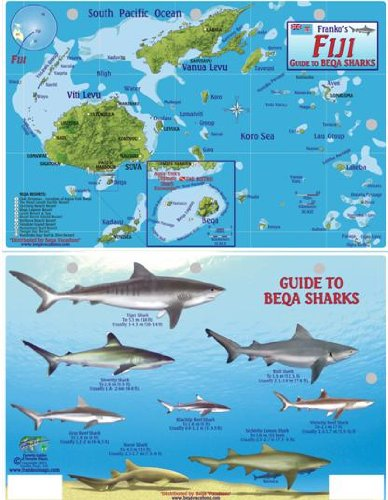 Download Fiji Map & Guide to Beqa Sharks Franko Maps Laminated Fish Card PDF