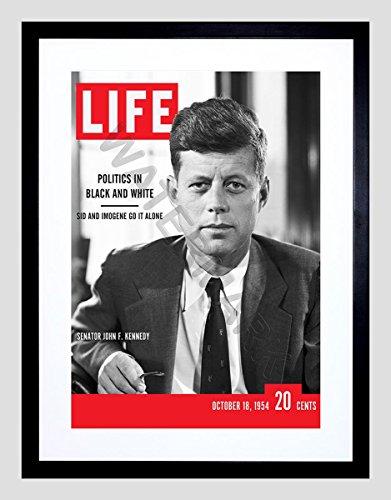 Wee Blue Coo Magazine Cover Life JFK John Kennedy President USA Frame Art Print F97X13217