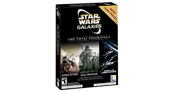 Amazon com: Star Wars Galaxies: The Total Experience - PC: Video Games