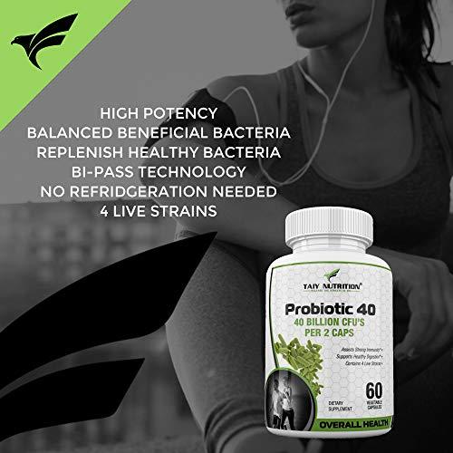 Amazon.com: Probióticos de nutrición de Taiwán 40, 40 ...