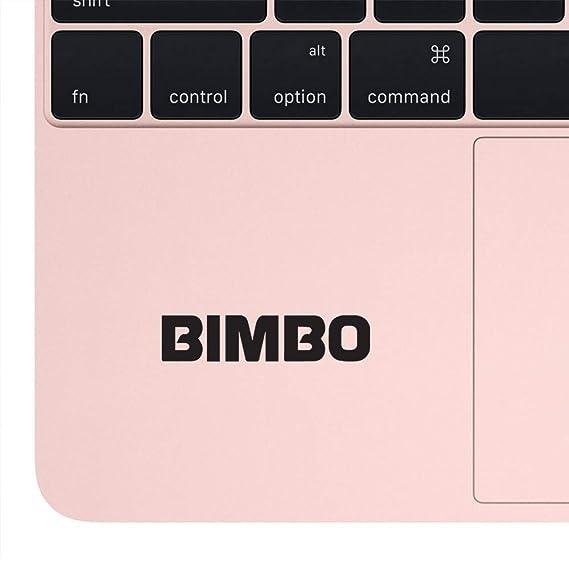 Amazon com: NBFU DECALS Logo Bimbo (Black) (Set of 2