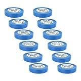 light blue painters tape - Rugged Blue M 187 Blue Painters' Masking Tape 1 in x 60 yd - 12 Pack
