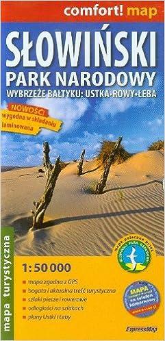 Comfort Map Slowinski Park Narodowy Wybrzeze Baltyku Ustka