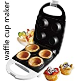 : J-JATI Electric waffle 4 cup maker white SW012