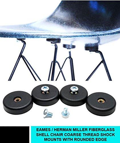 Shock mounts for eames herman miller fiberglass shell chair coarse - Singapore Half Frame Glasses
