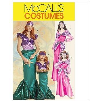 Unbekannt Mc Call´s Schnittmuster 5498 Kids Kinder Kostüm Prinzessin ...