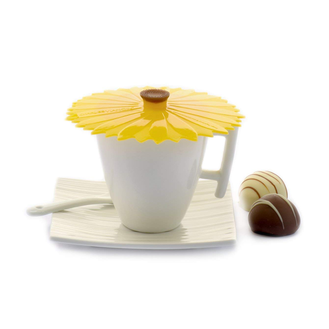 10/cm Sonnenblume gelb Sonnenblumen Charles Viancin/ /1105eu-set der 2/Silikon