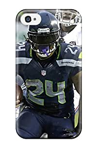 High Quality Shock Absorbing Case For Iphone 4/4s-seattleeahawks