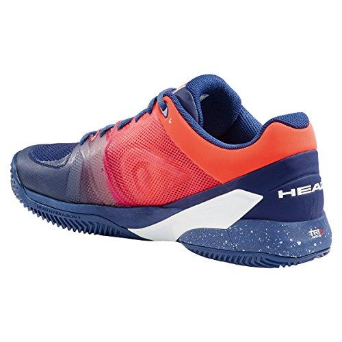 Head–Revolt Pro 2.5Clay Hombre Zapatillas de tenis azul