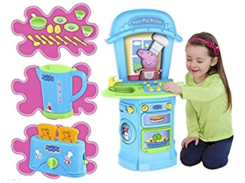 Hti Toys Uk Peppa Pig Peppa S Electronic First Kitchen Set