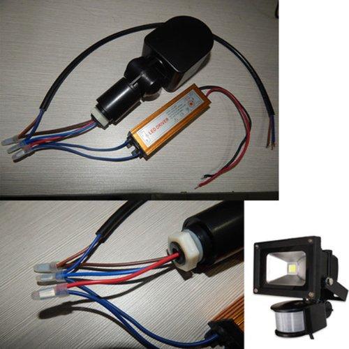 10 50w 12v Outdoor Security Pir Human Body Motion Sensor