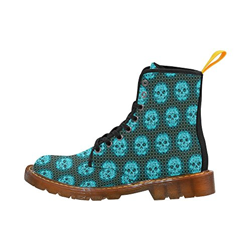 Leinterest Skulls And Dotts, Fashion Martin Boots Fashion Shoes Voor Heren