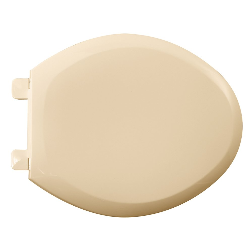 American Standard 5350.110.021 Cadet-3 Elongated Slow Close Toilet Seat with EverClean Surface, Bone by American Standard