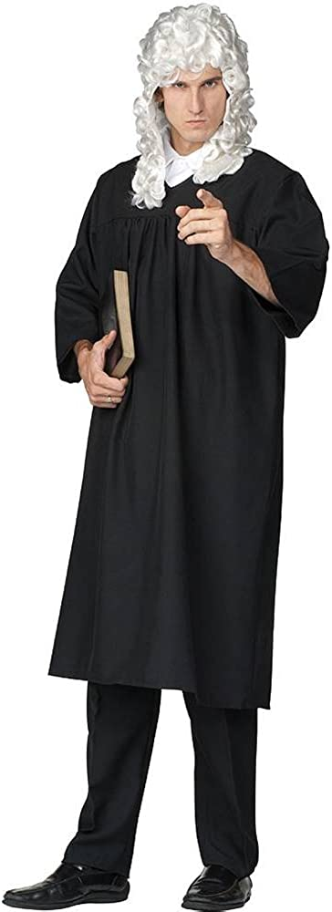 Judge Robe Adult Standard Costume, Size 36-40