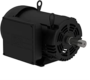 WEG 10 HP Single Phase 1750 RPM Air Compressor Duty Electric Motor 215T Frame 01018OS1CCD215T