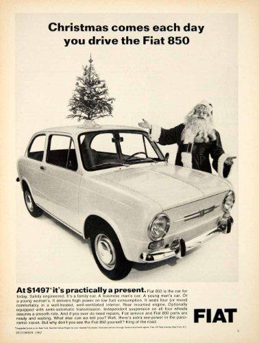 1967-ad-1968-fiat-850-2door-coupe-european-import-car-santa-claus-christmas-tree-original-print-ad