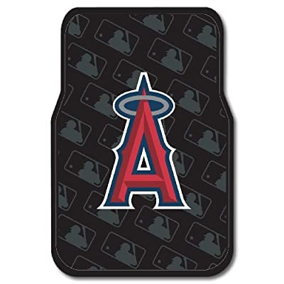 MLB Los Angeles Angels Two-Pack Front Car Floor Mat