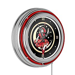 Miller High Life Girl in the Moon Vintage 14 Inch Neon Clock (Renewed)