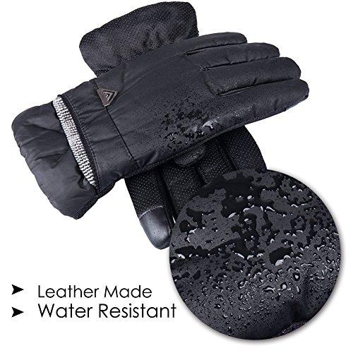 Review GLOUE Men's Gloves Waterproof