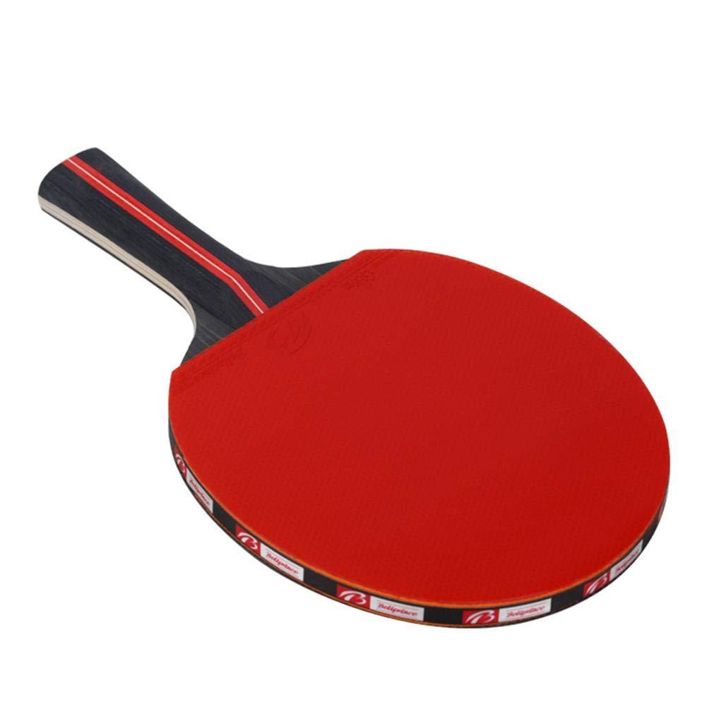 bulrusely Raquette De Ping Pong, 2 Raquette De Tennis De Table + 3Balle+ 1 Sac, Set De Tennis De Table pour Débutants Et Joueurs Avancés, 11.026.302.83in