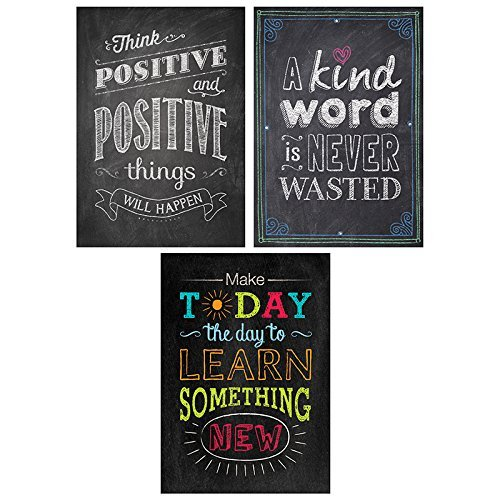 Be Your Best Inspire U Poster 3-Pack by Creative Teaching Press