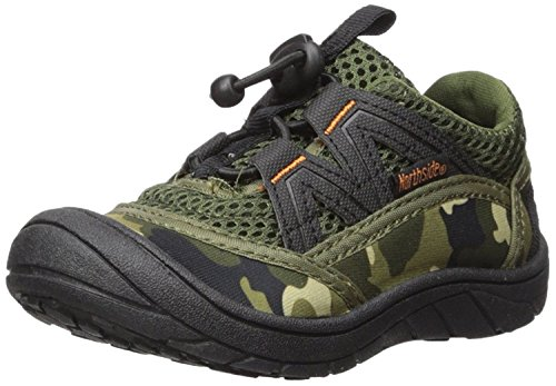 le II Summer Water Shoe, Camo, 2 M US Little Kid; with a Waterproof Wet Dry Bag (Geo Pool Bag)