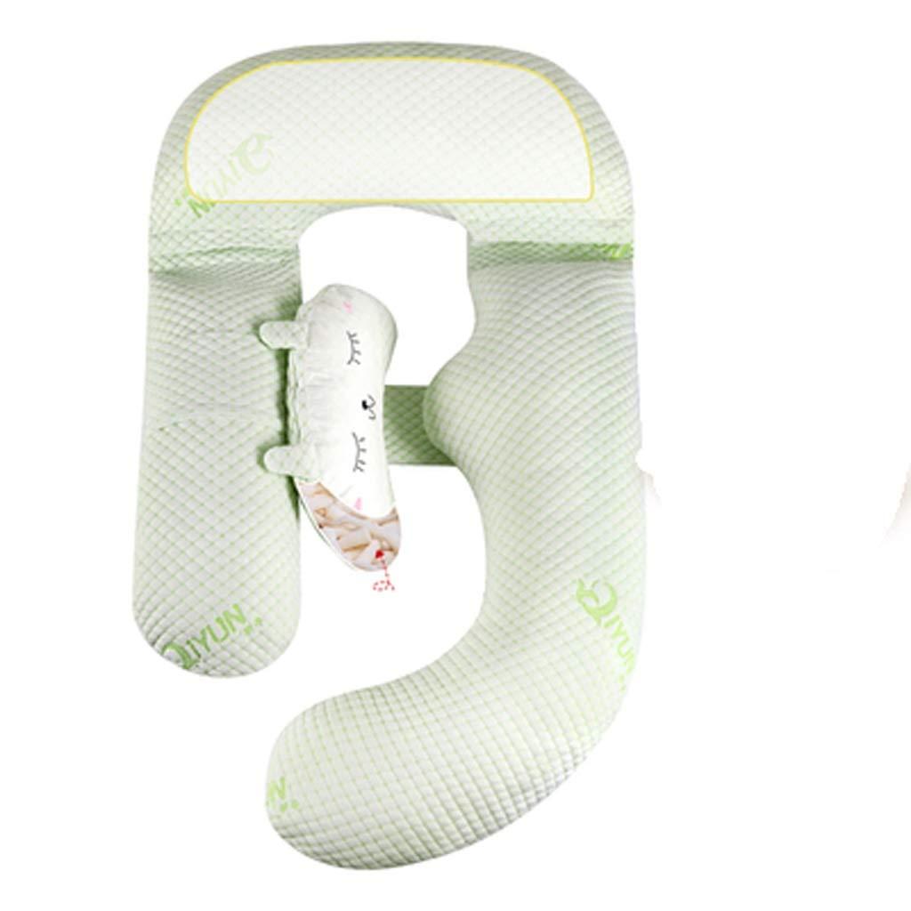 サポートトラベルピロー U字型の妊娠中の女性の枕は、体圧の睡眠をサポートしています B07Q3CS26B
