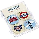 moses 82420 Fernweh Magnete London, 4-er Set