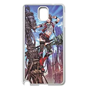 HD exquisite image for Samsung Galaxy Note 3 Cell Phone Case White cool anime girl MIO5039425