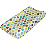 Tree Tops Polka Dot Changing Pad Cover by True Baby