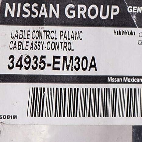 Genuine Nissan Shift Control Cable 34413-ET80A