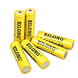 Best 18650 Batteries - MicroMing 18650 Flashlight Battery,6PCS 3.7V 9800mAh Rechargeable Battery Review