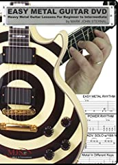 LEVELS: Easy, 1 Finger Metal, 2 Finger Metal 3 Finger Metal... You ll be using all 4 fingers in record time, playing at blistering fast tempos!INCLUDES: Power Chords Power Rhythms Power Slides Heavy-Down Picking Palm Mutes Alternate Picking S...
