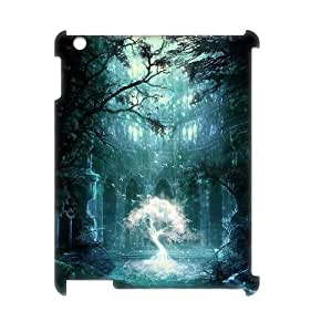 LZHCASE Diy Cover Custom Case Fantasy Fairy Tale For IPad 2,3,4 [Pattern-1]