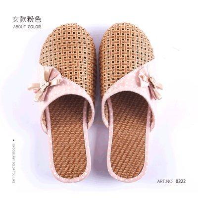 femminile Bow fankou estate Tie di estive Pink traspiranti 39 pantofole traspiranti XqHy6HOw
