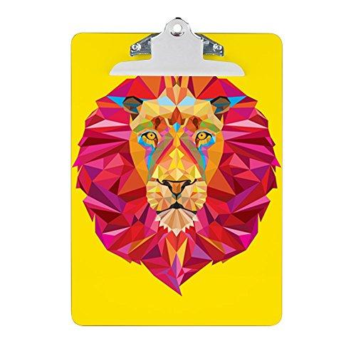 - Clipboard Geometric Lion King of the Jungle